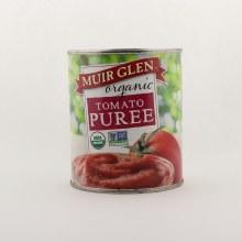 Muir Glen tomato puree 28 oz