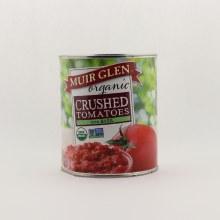 Muir Glen Crusahed tom with basil 28 oz