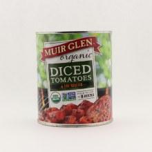 Muir Glen organic diced tomatoes 28 oz