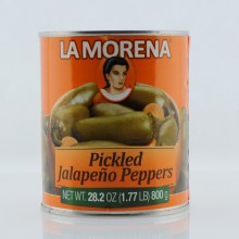 La Morena Whole Jalapeno