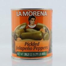 La Morena Pickled Jalapeno Peppers  27.75 oz