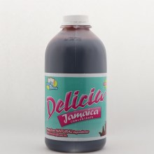 Delicias Jamaica Concentrate Sweetened 32 oz