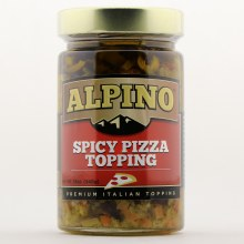 Alpino Spicy Pizza Topping Premium Italian Topping 12 oz