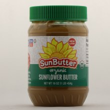Sun Butter Organic Sunflower Butter 16 oz