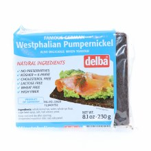 Delba Westphalian Pumpernickel 8.1 oz