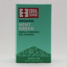 Ee Organic Mint Green Tea