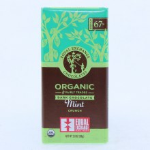 Ee Mint Dark Chocolate Bar