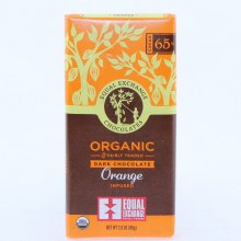 E Orange Dark Chocolate Bar