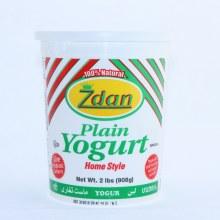 Zdan Plain Yogurt 100Per Cent Natural 2lbs
