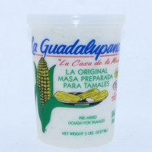 La Guadalupana Pre Mixed Dough For Tamales 5 lbs