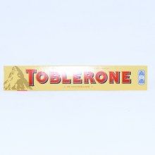 Toblerone, Swiss Milk Chocolate with Honey & Almond Nougat 100 G