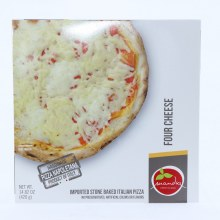 Mandia Four Cheese Pizza No Preservatives Artificial Colors or Flavors 14.82 oz 14.82 oz