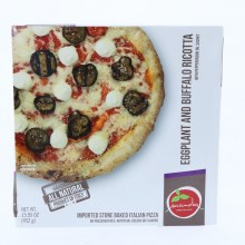 Mandia Eggplant  and  Buffalo Ricotta Pizza No Preservatives Artificial Colors or Flavors 15.95 oz