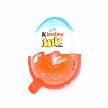 Kinder Joy For With Surprise Toy For Boys Milk And Cocoa Spreads With 2 Coated Wafer Biscuits  7 oz