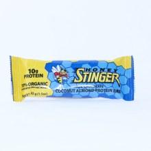 Honey Stinger Dark Chocolate Coconut Almond Protein Bar, 10g Protein, 70% organic Made With Organic Honey 1.05 oz