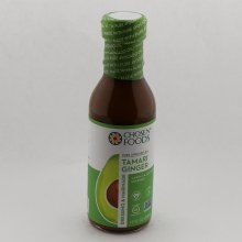 Chosen Foods Pure Avocado Oil Tamari Ginger Dressing  and  Marinade Canola  and  Soy Oil Free Dressing Certified Vegan Made With Avocado Oil Certified Gluten Free Non GMO Verified