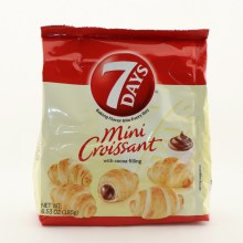 7 Days Mini Croissant With Cocoa Filling