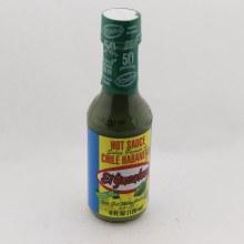 El Yucateco Chile Habanero Green Hot Sauce, No Artificial Color 4 oz