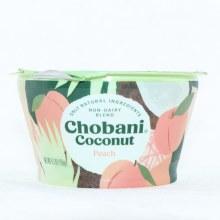 Chobani Coconut Peach