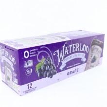 Waterloo Grape Spark Water