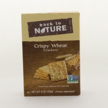 Btn Crispy Wheat Crackers