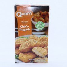 Quorn Chikn Nuggets Meatless  and  Soy Free made with Non GMO Ingredients 10.6 oz 10.5 oz