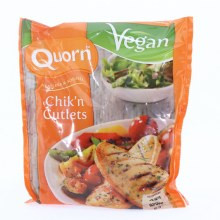 Quorn Chikn Cutlets Meatless  and  Soy Free Vegan 8.89 oz