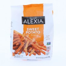 Alexia Sweet Potato Fries with Sea Salt Non GMO 0g Trans Fat per serving 20 oz