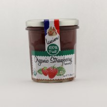 Lucien organic strawberry preserve