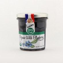 Lucien organic wild blueberry preserve 11.28 oz