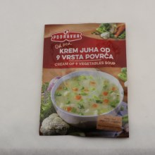 Podravka cream of 9 vegg soup 1.6 oz
