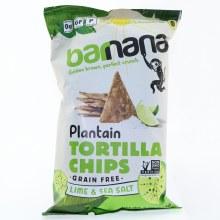 Barnana Tortilla Lime & Sea