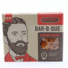 Upton Bar b que Jackfruit Free of Gluten Soy  and  Oil Good Source of Fiber Cholesterol Free 100Per Cent Vegan 10.6 oz
