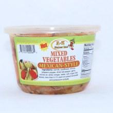 AZ Mexican-Style Mixed Vegetables, Hot 16 oz