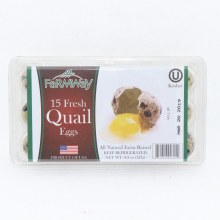 Farmway Fresh Quail Eggs 15 pk