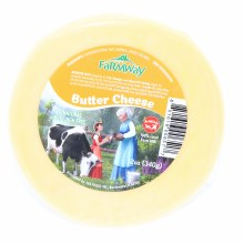 Farmway All Natural Butter Cheese, Amish  12 oz