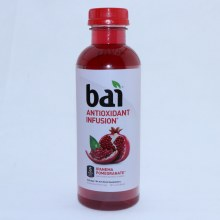 Bai Antioxidant Infusion  Ipanema Pomegranate  1g Sugar  No Artificial Sweeteners  Kosher  Vegan  Non GMO  Gluten Free  Soy Free  Low Glycemic