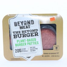 Beyond Meat Plant Based Burger Patties Soy Free Gluten Free NO GMOs