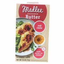 Medlee Seasoned Butter Red Chile  2.5 oz