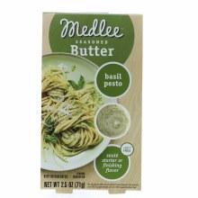 Medlee Seasoned Butter, Basil Pesto  2.5 oz