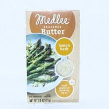 Medlee Seasoned Butter, Lemon Herb  2.5 oz
