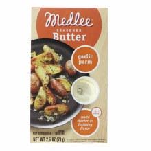 Medlee Seasoned Butter, Garlic Parm  2.5 oz