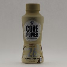 Core Power High Protein Milk Shake Vanilla Natural Flavor, 26g Complete Protein, Fueled By Fairlife Protein 11.5 oz