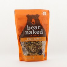 Bear Naked fruit and nut granola