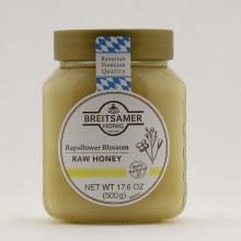 Breitsamer Rapsflower Blossom Raw Honey  17.6 oz