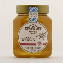 Breitsamer Acacia Raw Honey  17.6 oz