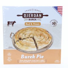Djerdan Beef & Potato Pie