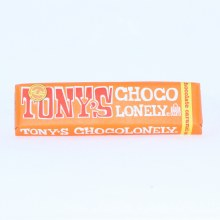 Tony's Chocolonely Milk Chocolate Caramel Sea Salt Bar  1.7 oz