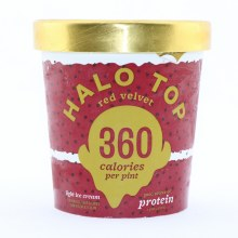 Halo Top Red Velvet Light Ice Cream