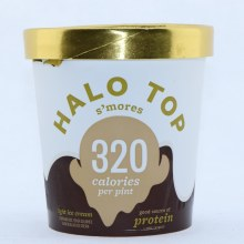 Halo Top SMores Flavored Light Ice Cream  473 ml